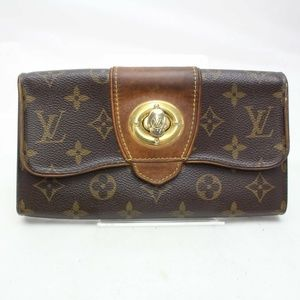 Auth Louis Vuitton Boetie Long Wallet #1824L12